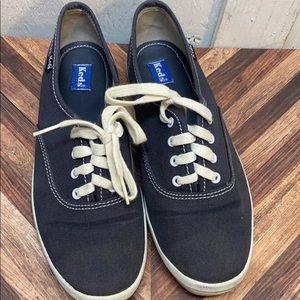 Kids Navy Keds sneakers